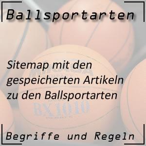 Ballsportarten Sitemap