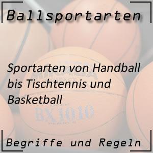 Ballsportarten