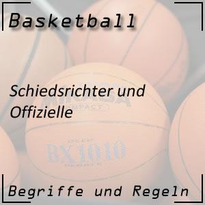 Basketball Schiedsrichter / Offizielle