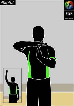 Handzeichen Technisches Foul