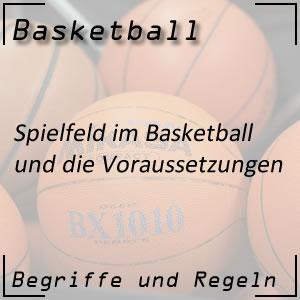 Basketball Spielfeld