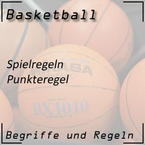 Basketball Spielregeln Punkteregel