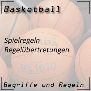 Basketball Regelübertretungen