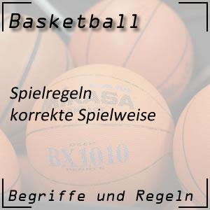Basketball korrekte Spielweise