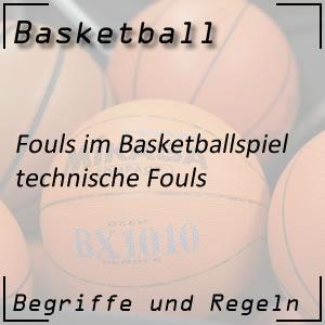 Basketball technische Fouls
