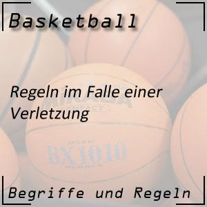Basketball Verletzung