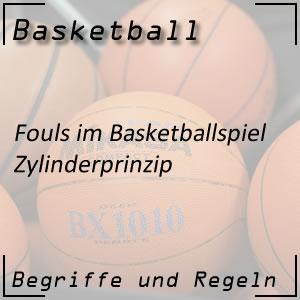Basketball Fouls Zylinderprinzip