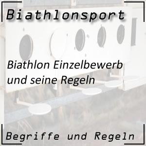 Biathlon Einzelbewerb