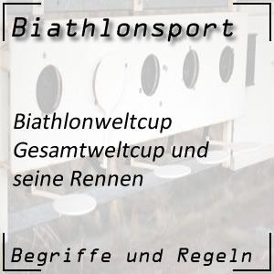 Biathlon Gesamtweltcup Liste der Weltcupsieger