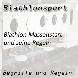 Biathlon Massenstartbewerb