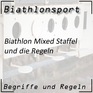 Biathlon Mixed-Staffel