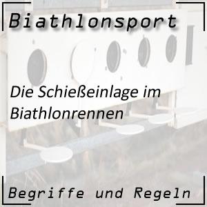 Biathlon Schießeinlage