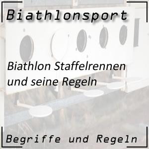 Biathlon Staffelrennen