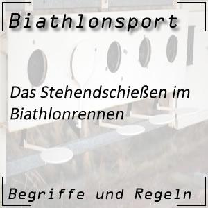 Biathlon Stehendschießen