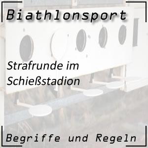 Biathlon Strafrunde