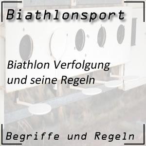 Biathlon Verfolgungsrennen
