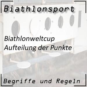 Biathlon Weltcuppunkte Punktesystem
