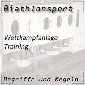 Training im Biathlon