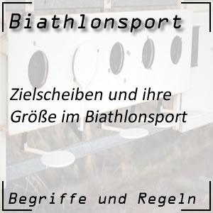 Biathlon Zielscheiben