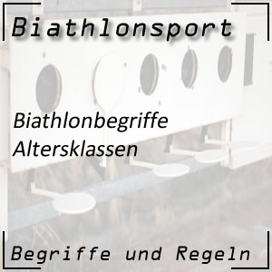 Biathlon Altersklassen