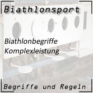 Biathlon Komplexleistung Langlauf und Schießen