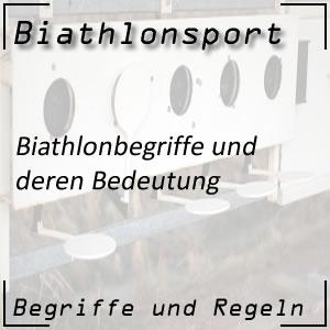 Biathlonbegriffe