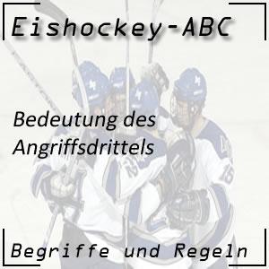 Eishockey Angriffsdrittel