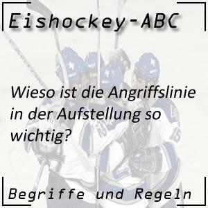 Eishockey Angriffslinie