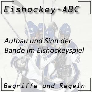 Eishockey Bande