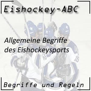 Eishockey Begriffe allgemein