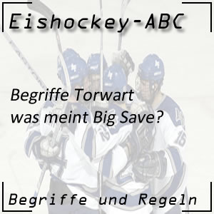 Eishockey Begriffe Big Save