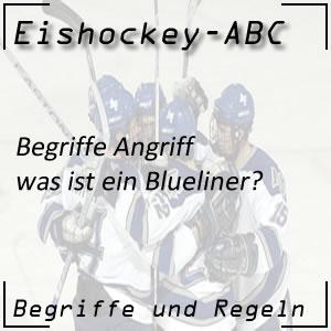 Eishockey Blueliner