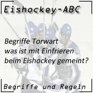 Eishockey Einfrieren