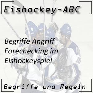 Eishockey Forechecking