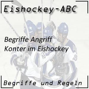 Eishockey Begriffe Konter
