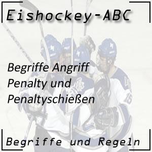 Eishockey Penalty / Penaltyschießen
