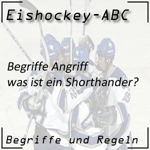 Eishockey Shorthander