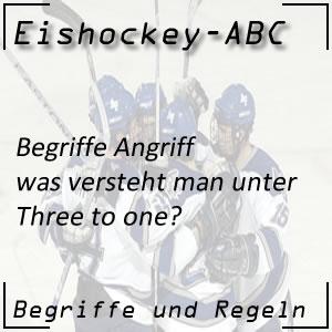 Eishockey Three to one