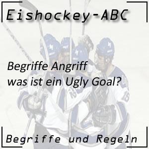 Eishockey Ugly Goal