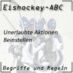 Eishockey Beinstellen