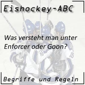 Eishockey Enforcer oder Goon