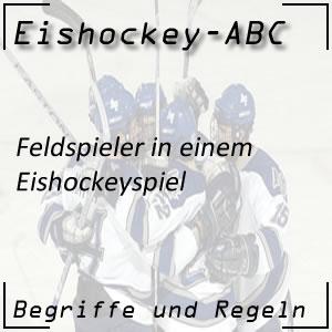 Eishockey Feldspieler