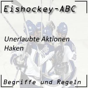 Eishockey Haken (2-Minuten-Strafe)