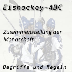 Eishockey Mannschaft