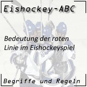Eishockey Rote Linie