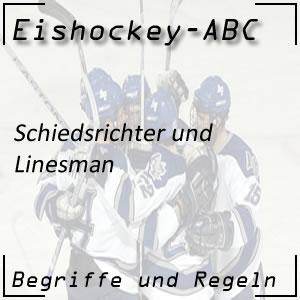 Eishockey Schiedsrichter / Linienrichter