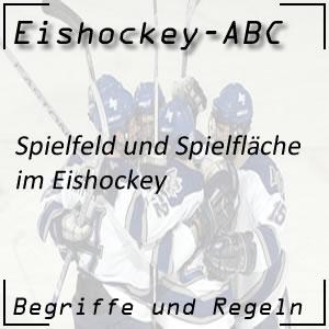 Eishockey Spielfeld