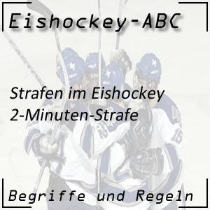 Eishockey 2-Minuten-Strafe