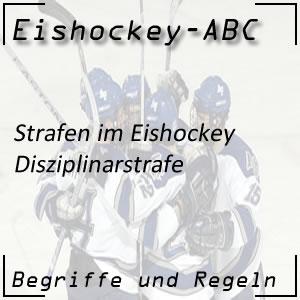 Eishockey Disziplinarstrafe