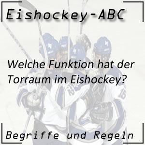 Eishockey Torraum